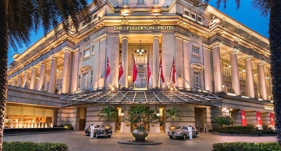 Fullerton Hotel, en Singapur