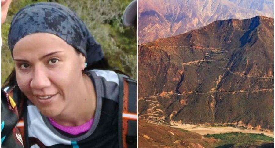 Íngrid Torres, atleta fallecida en el cañón del Chicamocha.