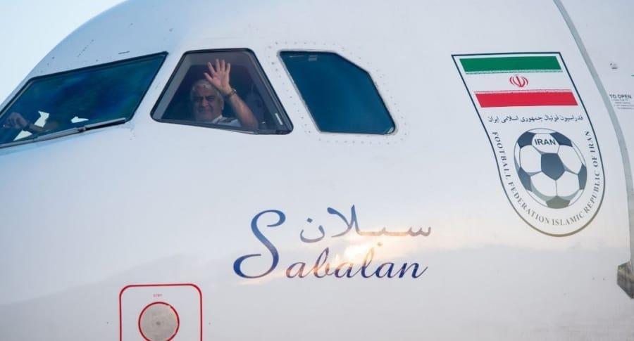 Llegada de Selección Irán a Rusia 2018