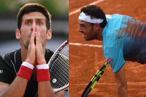 Novak Djokovic / Marco Cecchinato