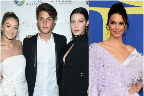 Gigi Hadid, Anwar Hadid y Bella Hadid / Kendall Jenner