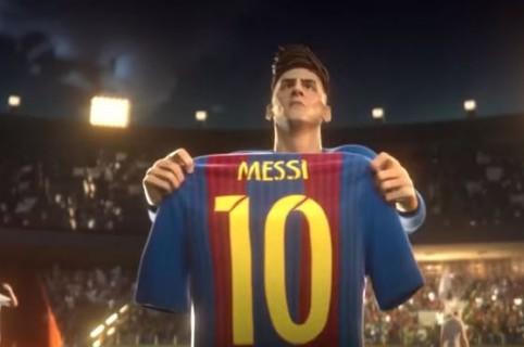 Animado Messi