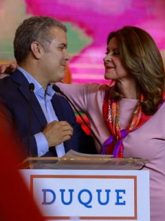Duque y Marta Lucia Ramírez
