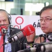 Darío Arizmendi y Gustavo Petro