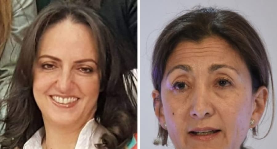 María Fernanda Cabal e Índrid Betancourt