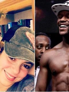 Piqué, Shakira y Mayweather