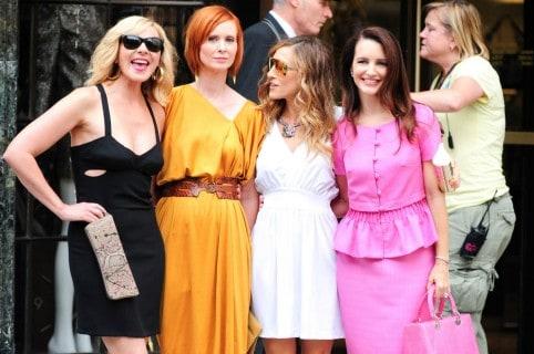 Kim Cattrall, Cynthia Nixon, Sarah Jessica Parker y Kristen Davis