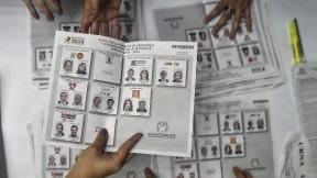 Tarjetón primera vuelta elecciones presidenciales Colombia 2018