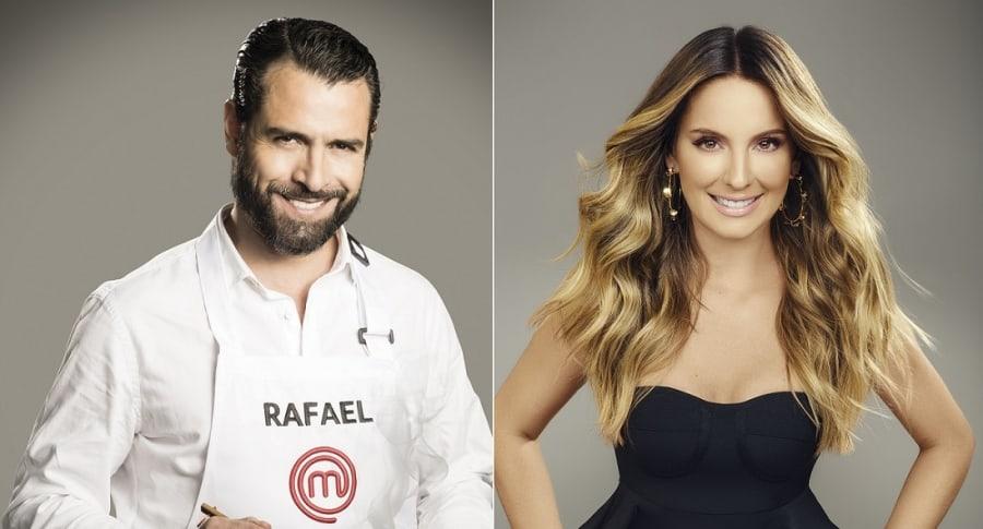 Rafael Novoa, actor, y Claudia Bahamón, presentadora.