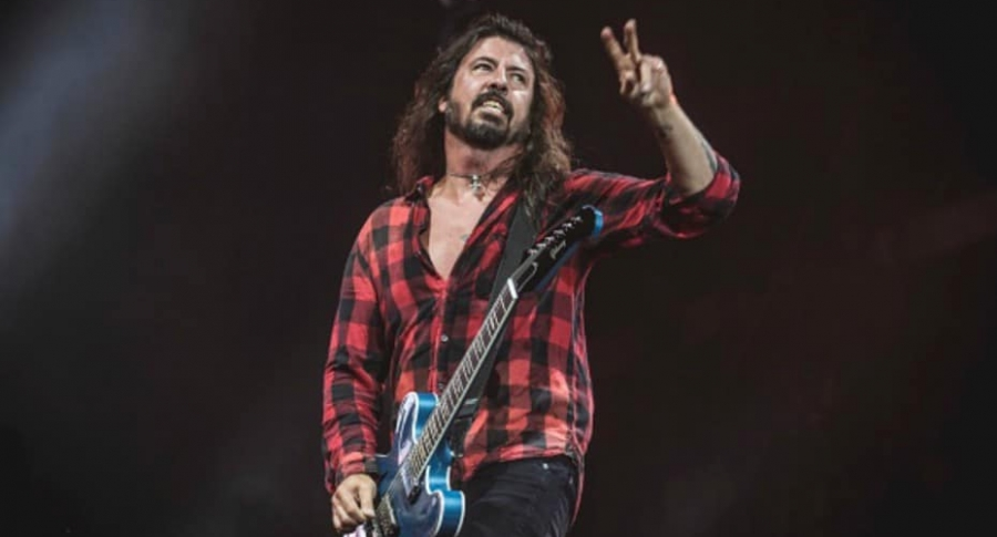 Dave Grohl, vocalista de Foo Fighters.