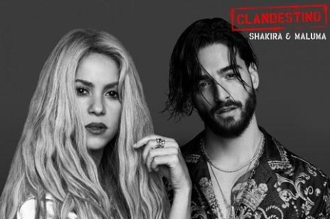 Shakira y Maluma