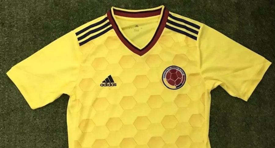 Camiseta falsa de la selección Colombia