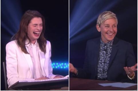 Anne Hathaway / Ellen DeGeneres.
