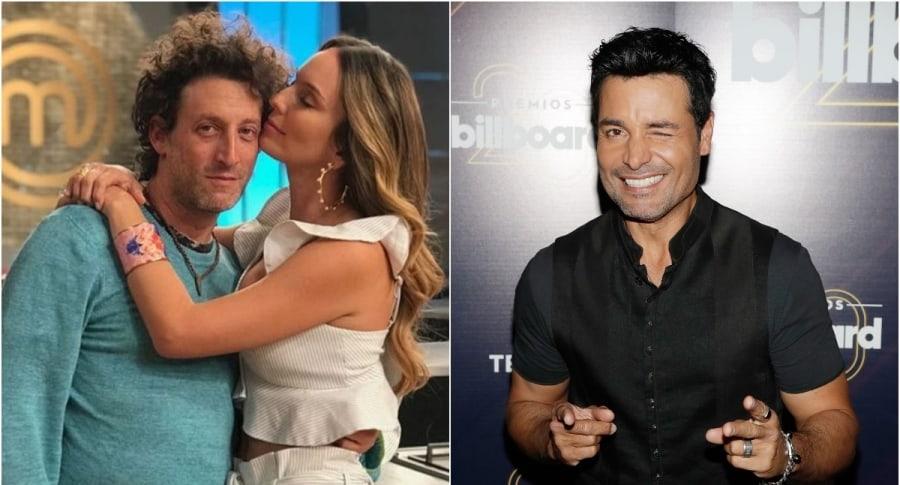 Simón Brand y Claudia Bahamón / Chayanne