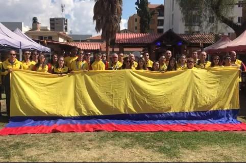 Delegación de Colombia en Juegos Suramericanos
