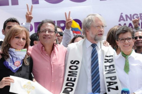 Apoyo a Gustavo Petro