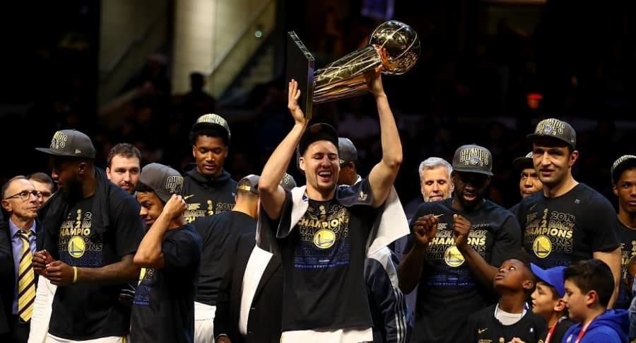 Golden State Warriors gana la final de la NBA