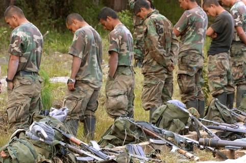 Paramilitares capturados
