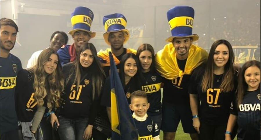 Colombianos de Boca Juniors