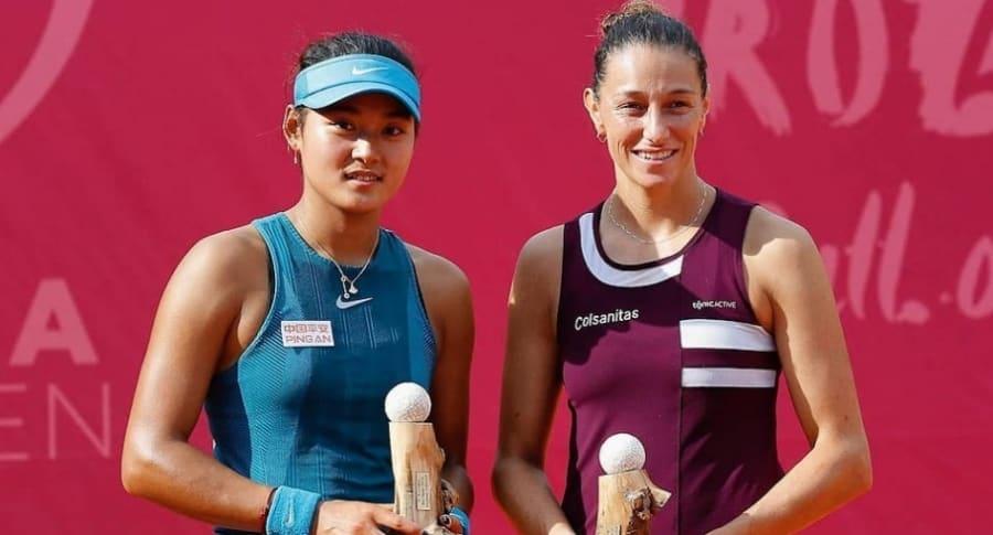 Mariana Duque, campeona en WTA de Bol, Croacia
