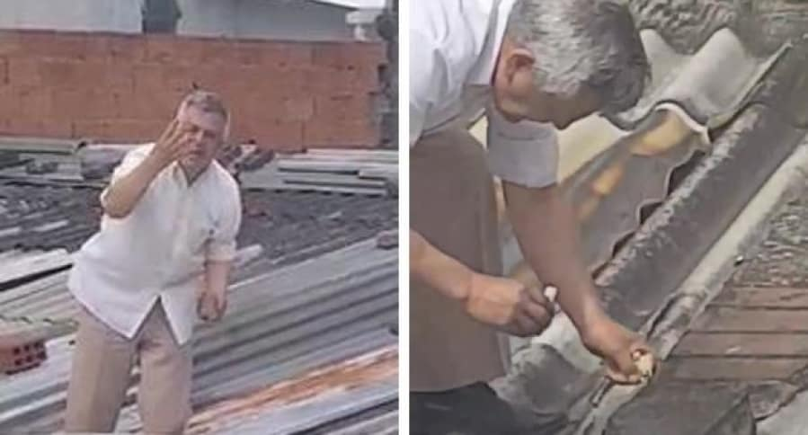 Hombre acusado por vecinos de matar gatos