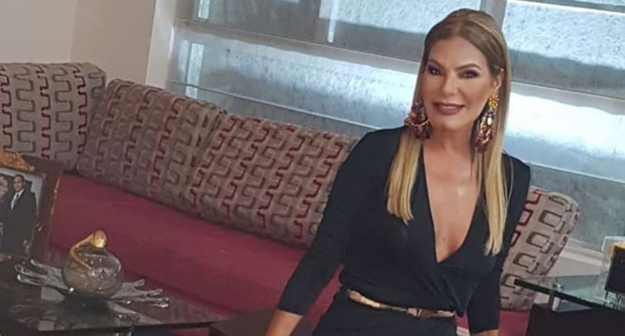 María Mónica Urbina, exreina de Colombia