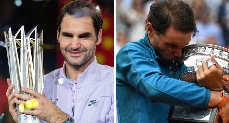 Federer y Nadal