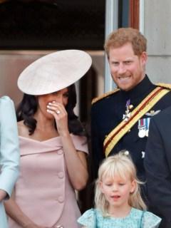 Kate Middleton, Meghan Markle y el príncipe Harry