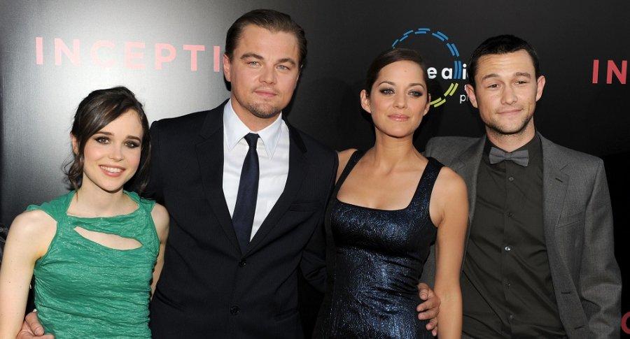 Ellen Page, Leonardo DiCaprio, Marion Cotillard, Joseph Gordon