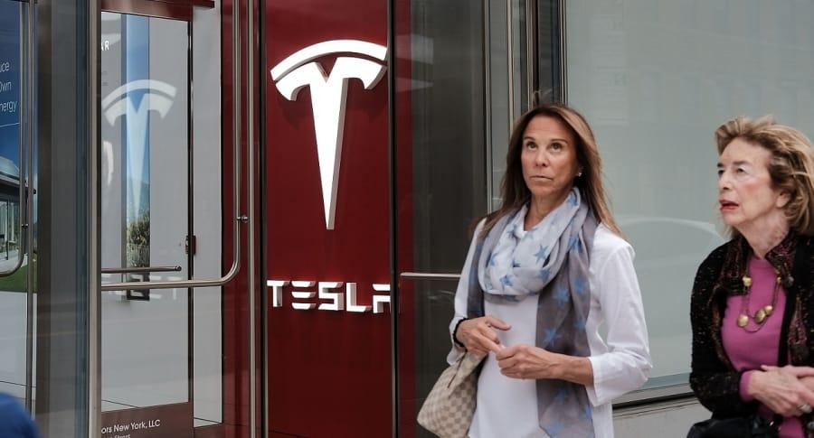 Tienda de Tesla, en Nueva York