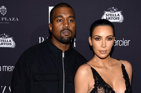 Kanye West y Kim Kardashian West