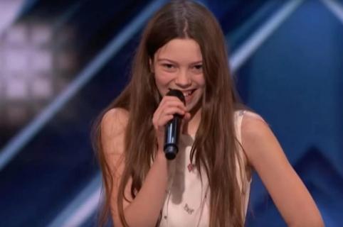 Courtney Hadwin, participante de 'America's Got Talent'.