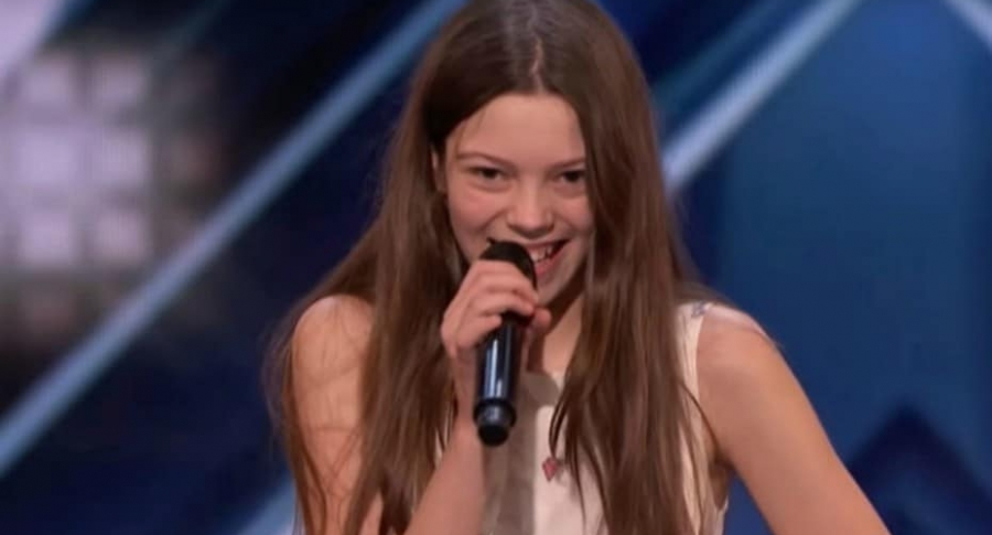 Courtney Hadwin, participante de 'America's Got Talent'.