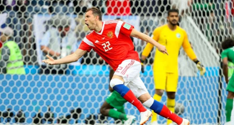 Rusia 3-0 Arabia Saudita