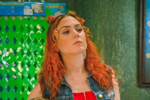 Carolina López en el papel de 'Yuya'