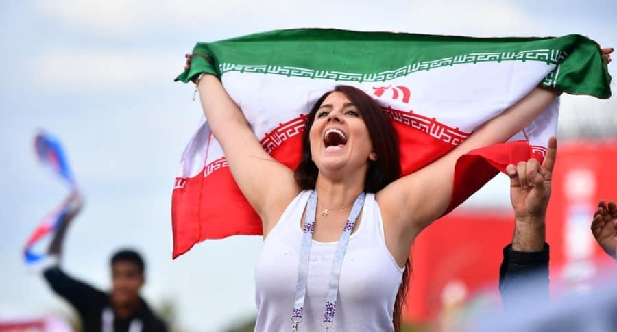 Seguidora de Irán en Moscú