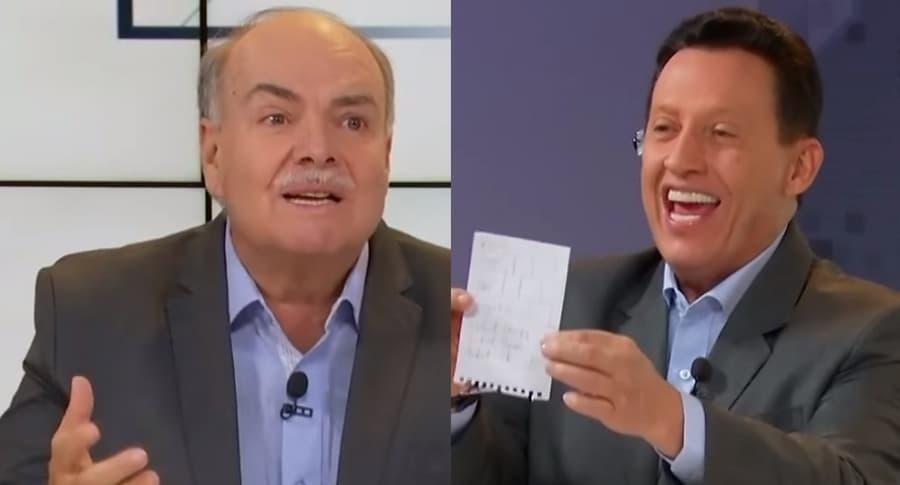 Iván Mejía y Óscar Rentería