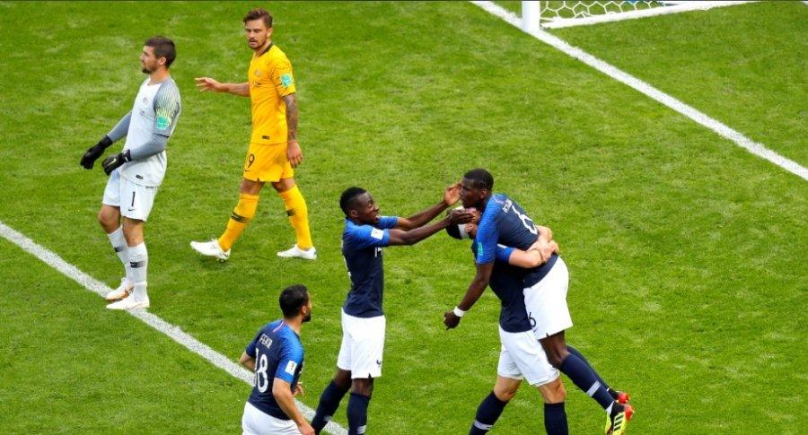 Francia 2-1 Australia