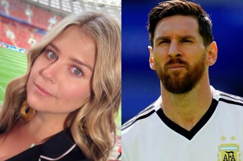 Andrea Guerrero / Lionel Messi