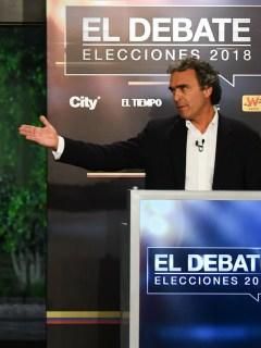 Gustavo Petro y Sergio Fajardo, políticos.