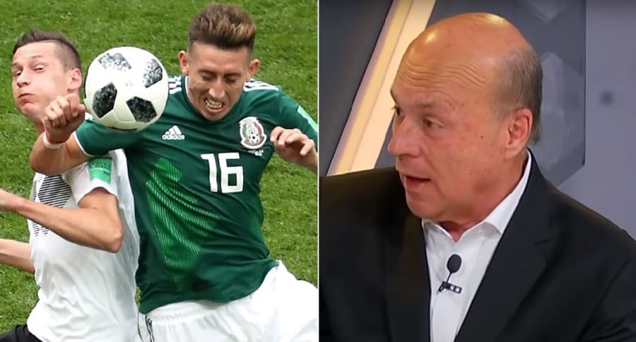 Alemania vs. México y Carlos Antonio Vélez
