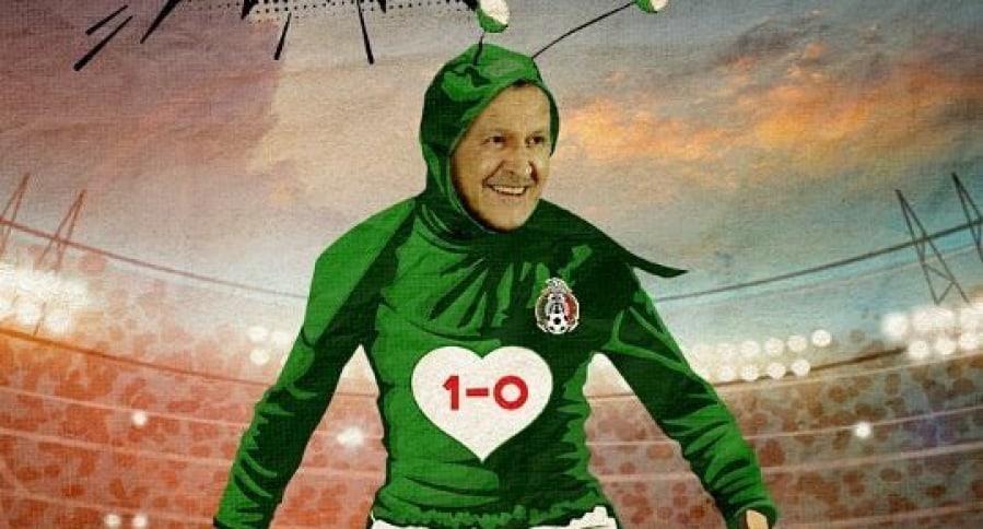 Meme de la victoria de México ante Alemania