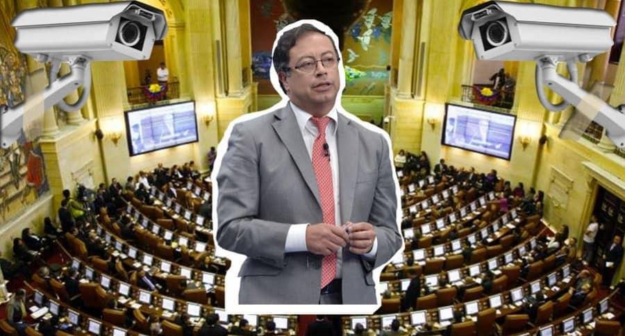 Gustavo Petro tendrá curul en el Senado