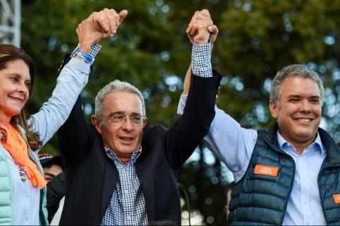Álvaro Uribe Vélez, Iván Duque y Martha Lucía Ramírez