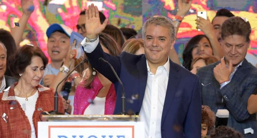 Iván Duque, nuevo presidente de Colombia