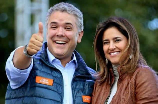 Duque y su esposa EFE