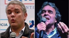 Iván Duque y Sergio Fajardo