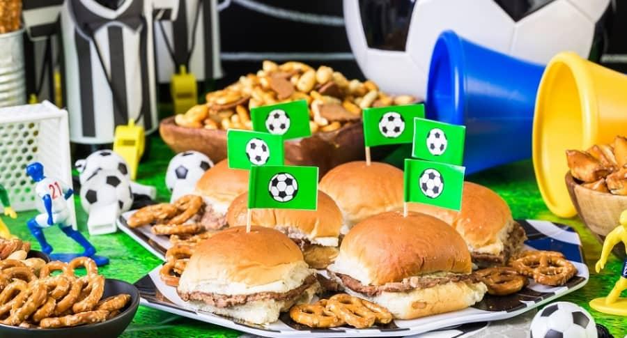 Comida fútbol