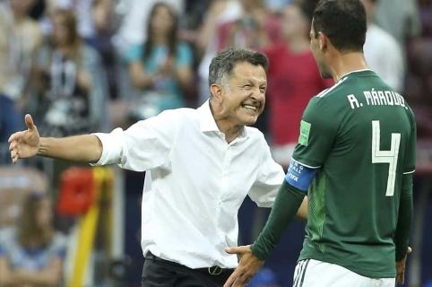 Juan Carlos Osorio, técnico de México