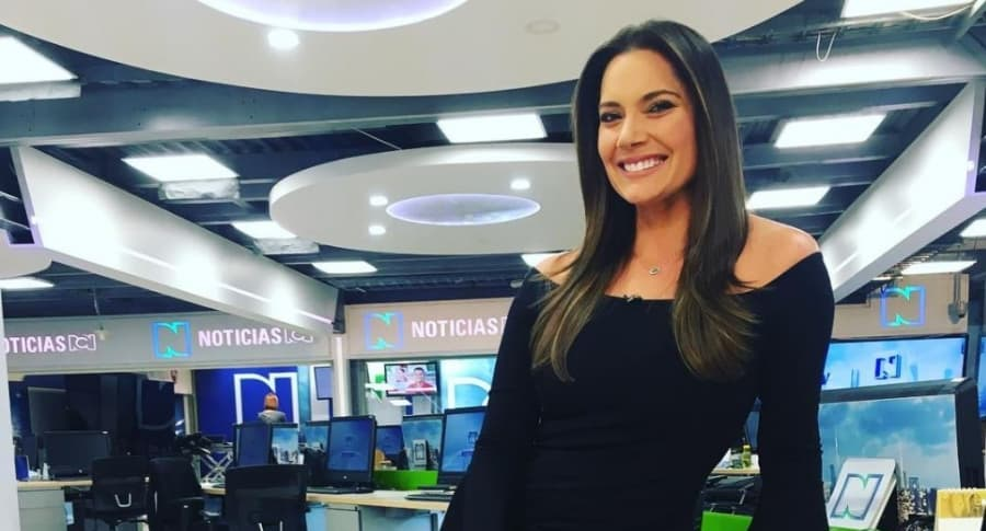 Jessica de la Peña, presentadora.